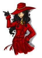 Carmen Isabela Sandiego by LilithianRose
