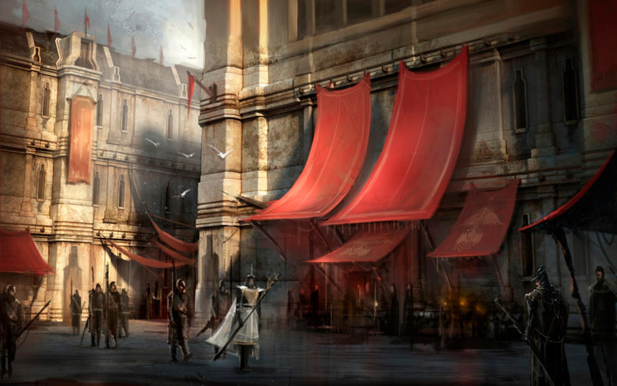 Dragon Age II Concept Art II by Requium-for-Kira