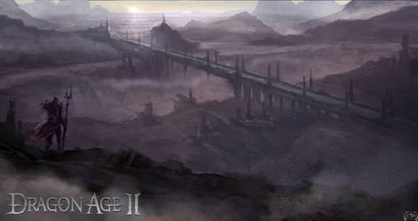 Dragon Age II Concept Art V by Requium-for-Kira