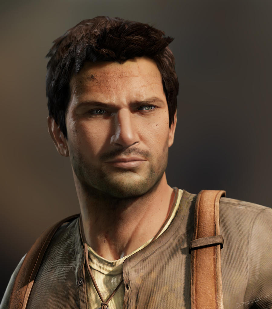 Nathan Drake by Requium-for-Kira
