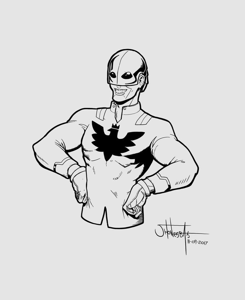superheroe Colombiano by jhonesbas