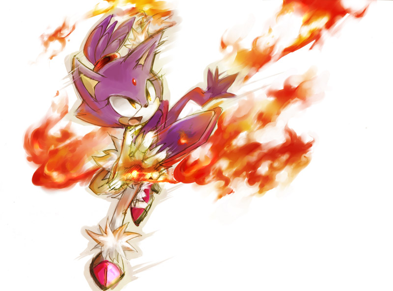 blaze cat. Blaze The Cat