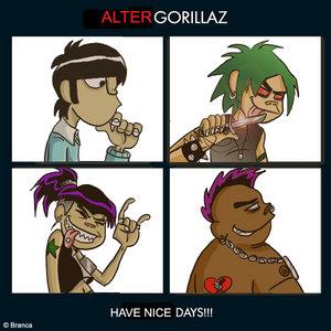 Gorillaz Cartoon Members | RM.