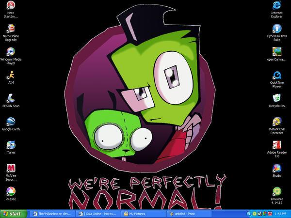 Desktop by PandabearRoo666
