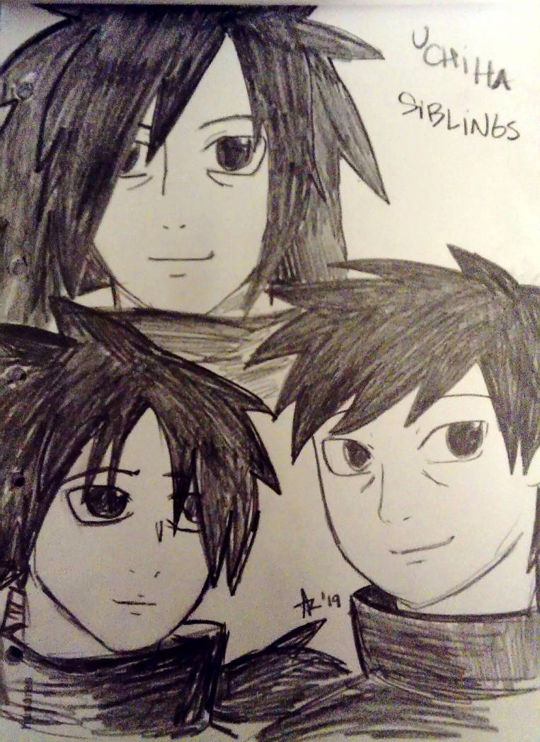 UCHIHA SIBLINGS by BellaHikari on DeviantArt