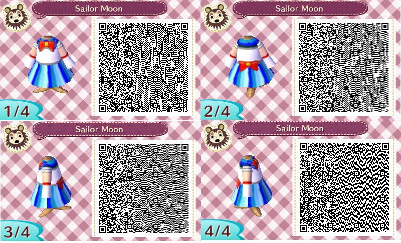 Sailor Moon QR Code ACNL by Sakurashousewife