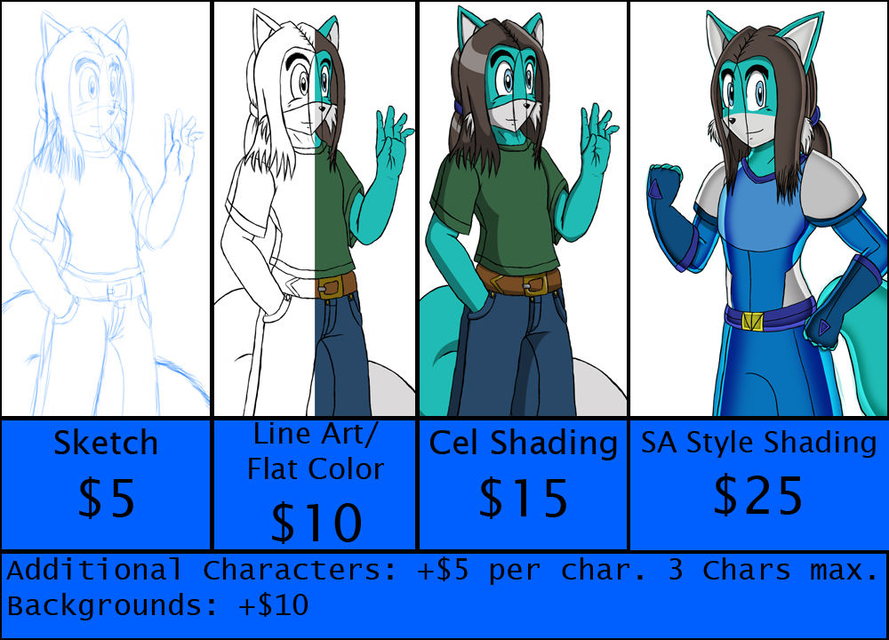 Commission Info [UPDATED]