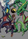 Koji OC Pokemon Trainer of Dragons