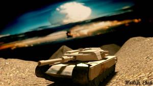 3D tank scene