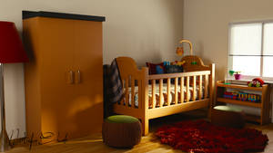 3D - Babies Room