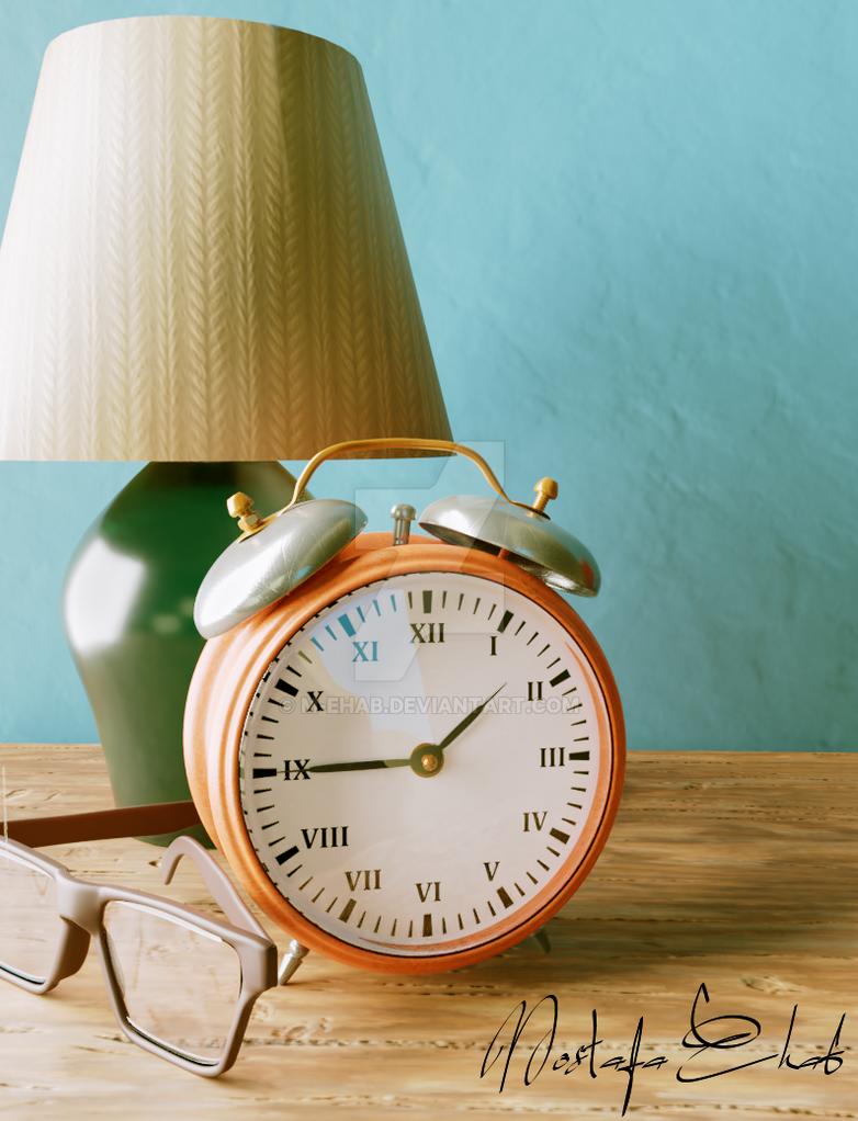 Vintage Clock by M-Ehab