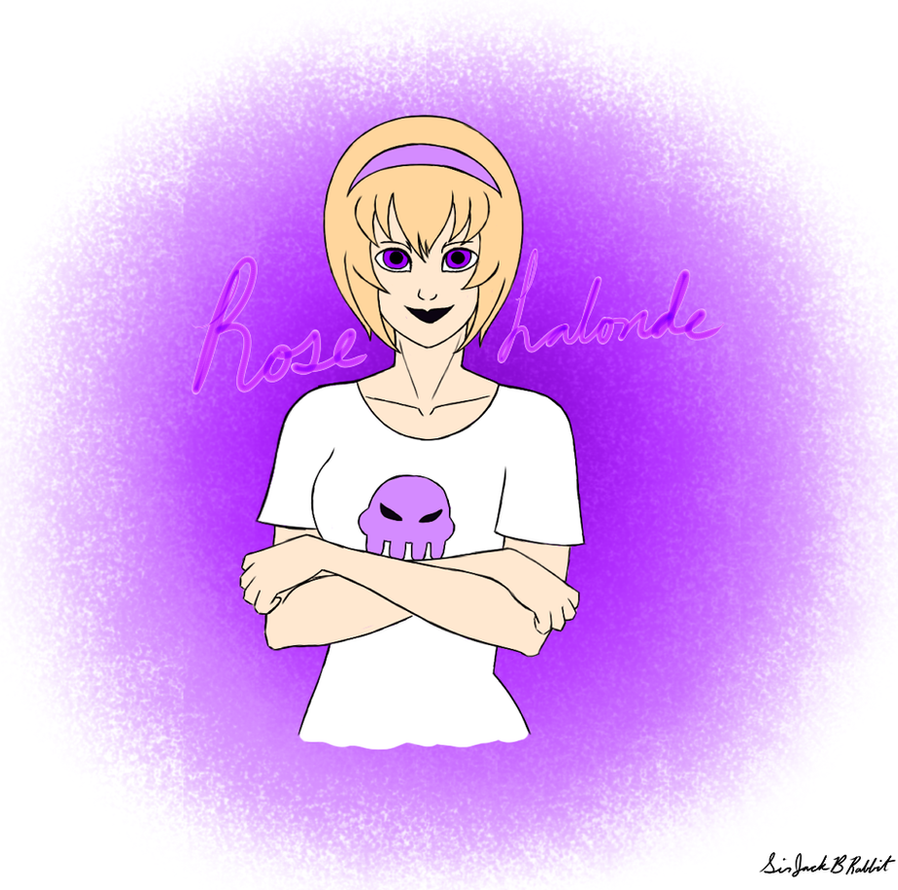 40 Day Homestuck Challenge Entry #1: Rose Lalonde by SirJackBRabbit
