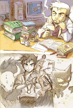 Prof. Oak and Agatha