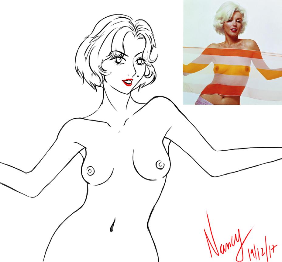 Marilyn Monroe by Sushi-Demon