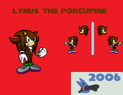 Lynus-the-Porcupine's Request - Lynus sprite sheet by DevyHero