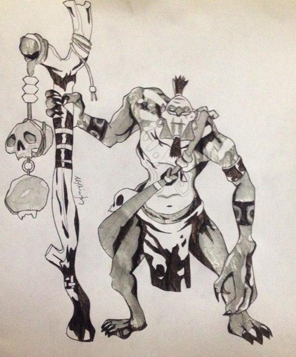 dota 2 witch doctor by koichiren on deviantart