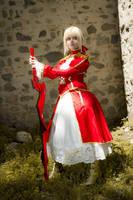 Saber Nero - Fate/Extra by YuukiCosplayer