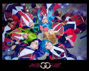 We are shining stars! AKB0048