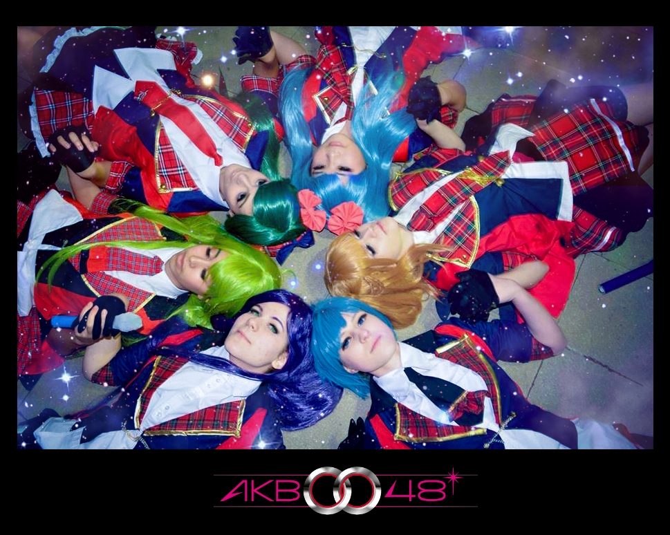 We are shining stars! AKB0048 by YuukiCosplayer