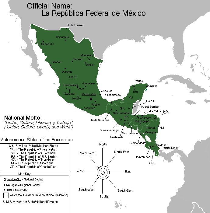 La Republica Federal de Mexico by Muzik-Maniac