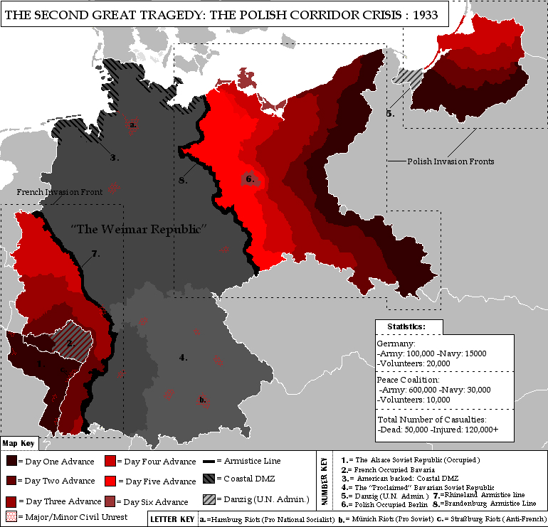 The Polish Corridor Crisis by Muzik-Maniac