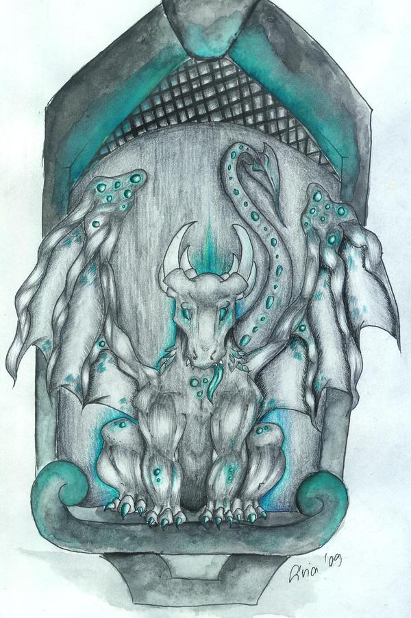 Gargoyle by P3dy