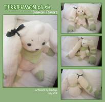 Terriermon Plush by Devkyu