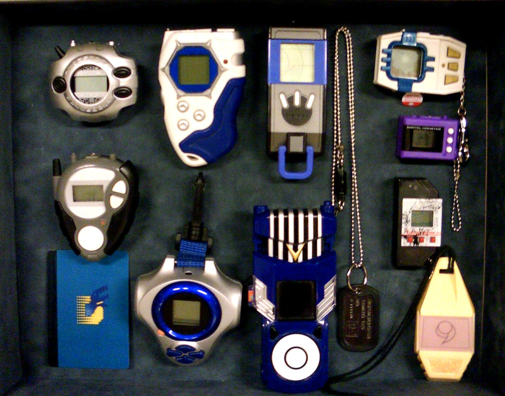 Digivice Collection By Devkyu On Deviantart
