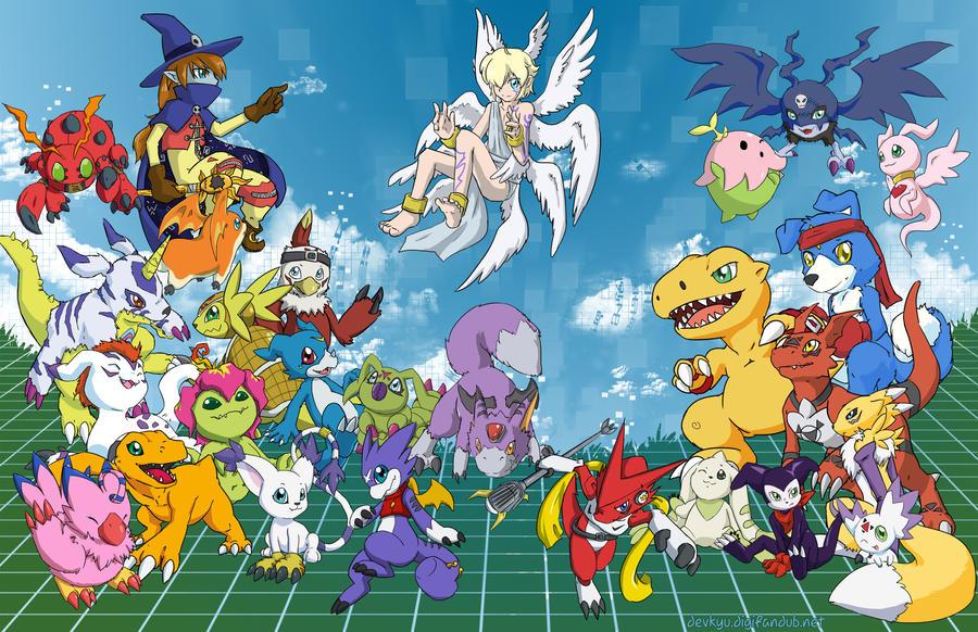 Digimon Partners by Devkyu