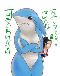 Ore no Left Shark by Devkyu