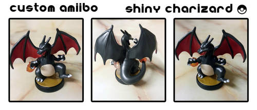 Custom Amiibo - Shiny Charizard by Devkyu