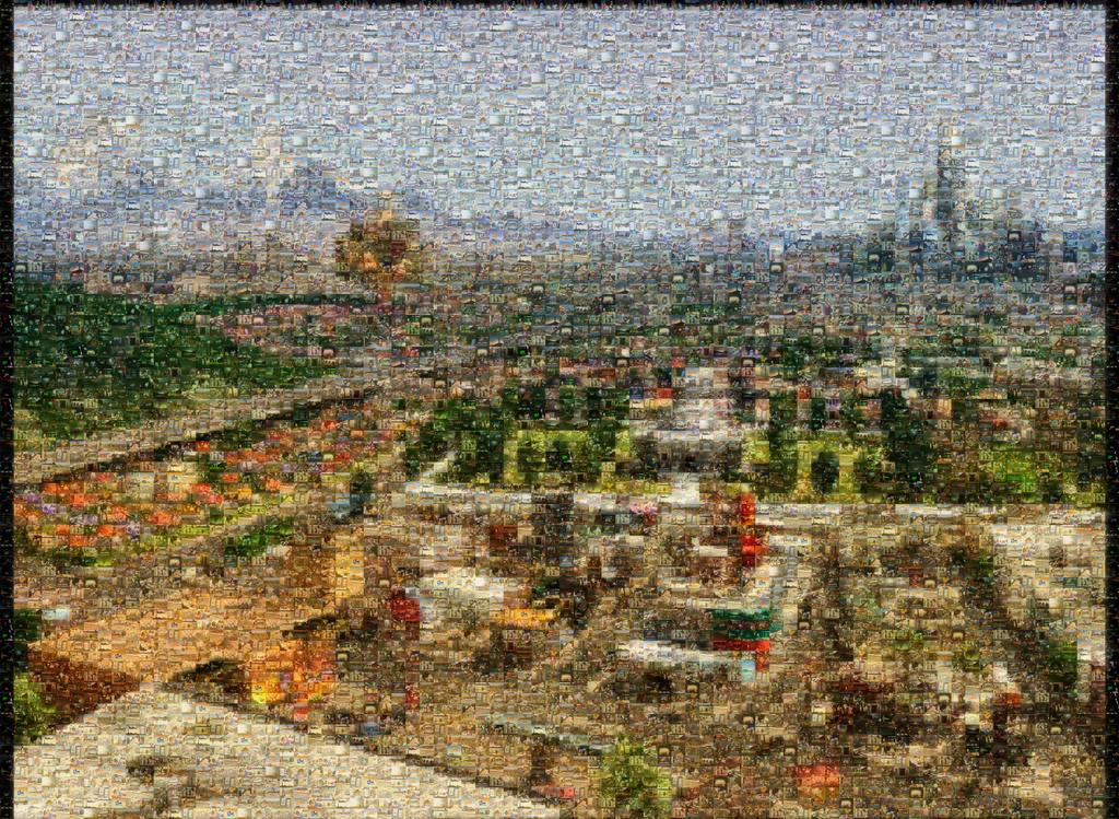 Cartoon Network City - Mosaic by CartoonNetworkCity