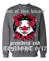 PREORDERS CLOSING TONIGHT - not of this binary