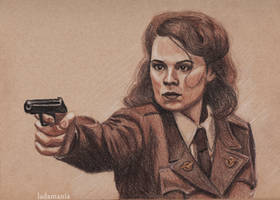 Agent Carter by Ladamania
