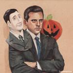 Michael Scott - Halloween by Ladamania