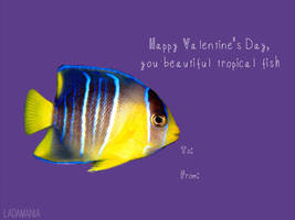 Galentines - Tropical Fish by Ladamania