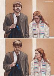 The Secret (Panel Version) - Jim and Pam