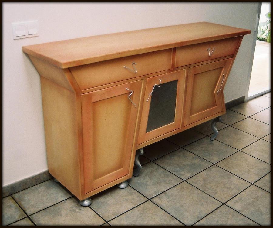 Aparador 1 by tamal muebles on deviantart for Artisan muebles