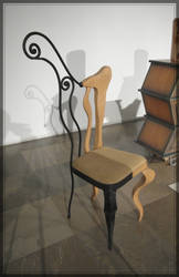 Silla mixta by Tamal-muebles
