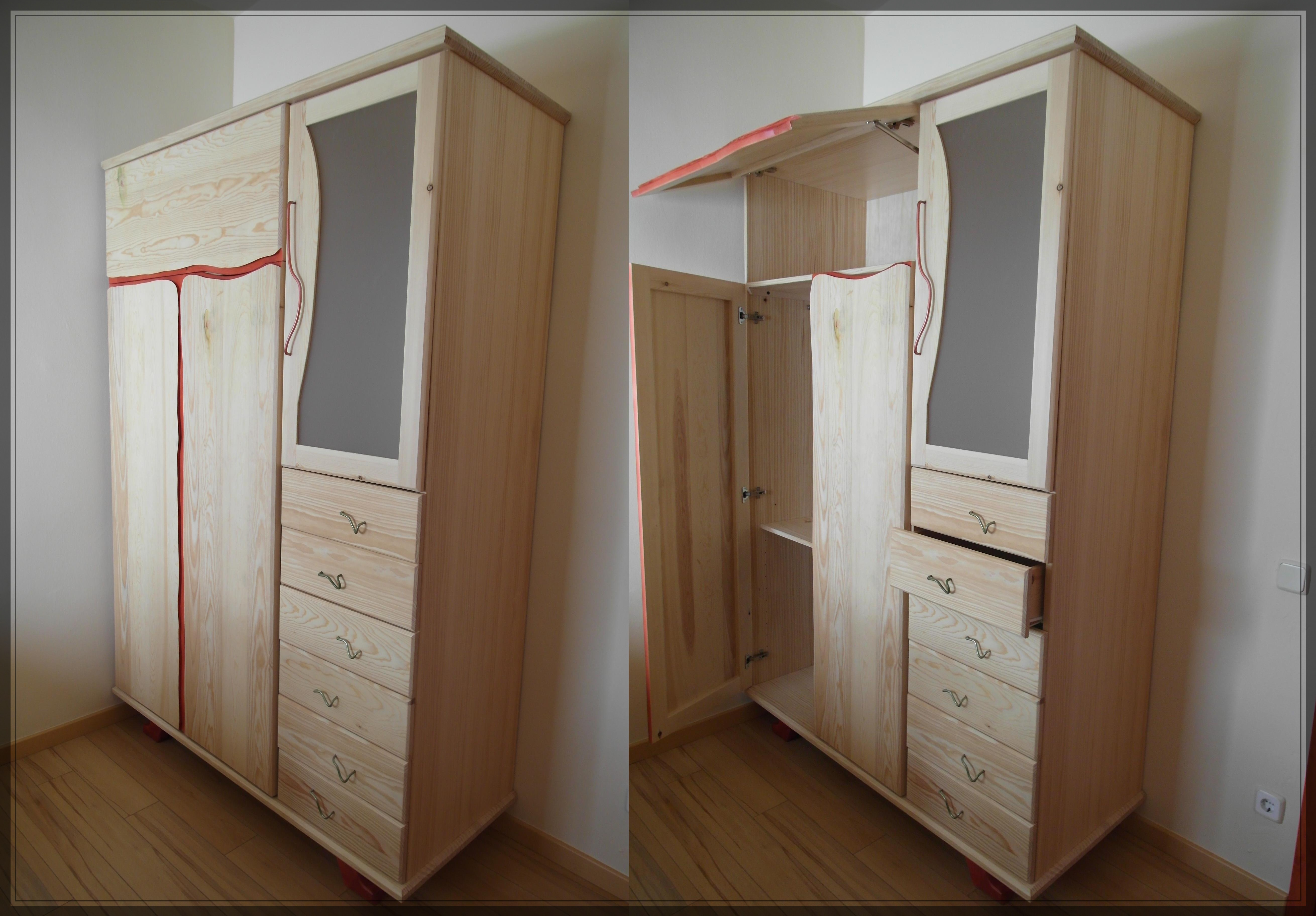 Armario pino soria by tamal muebles on deviantart - Muebles de soria ...