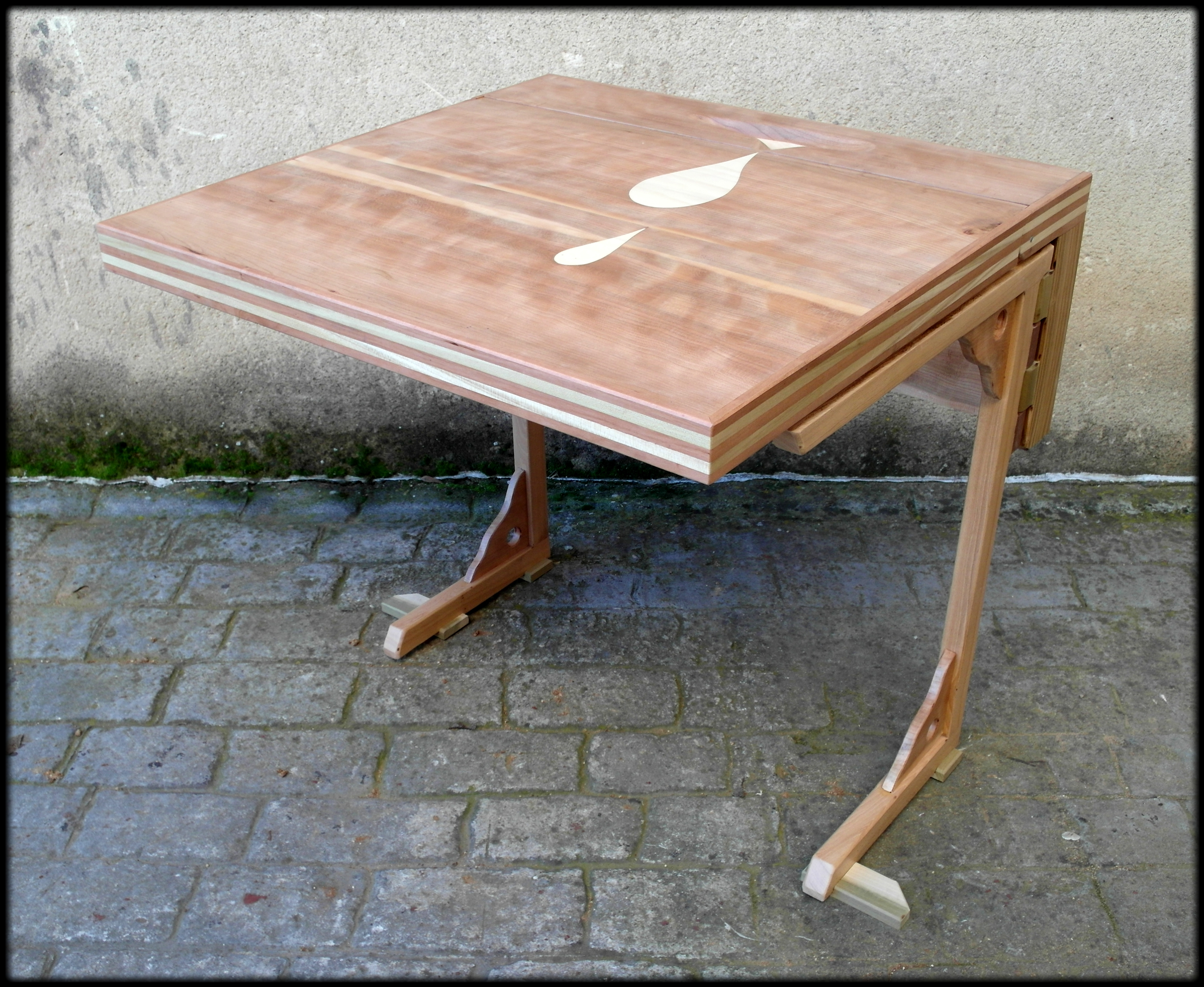 Mesa auxiliar plegable by tamal muebles on deviantart - Mesa auxiliar plegable ...