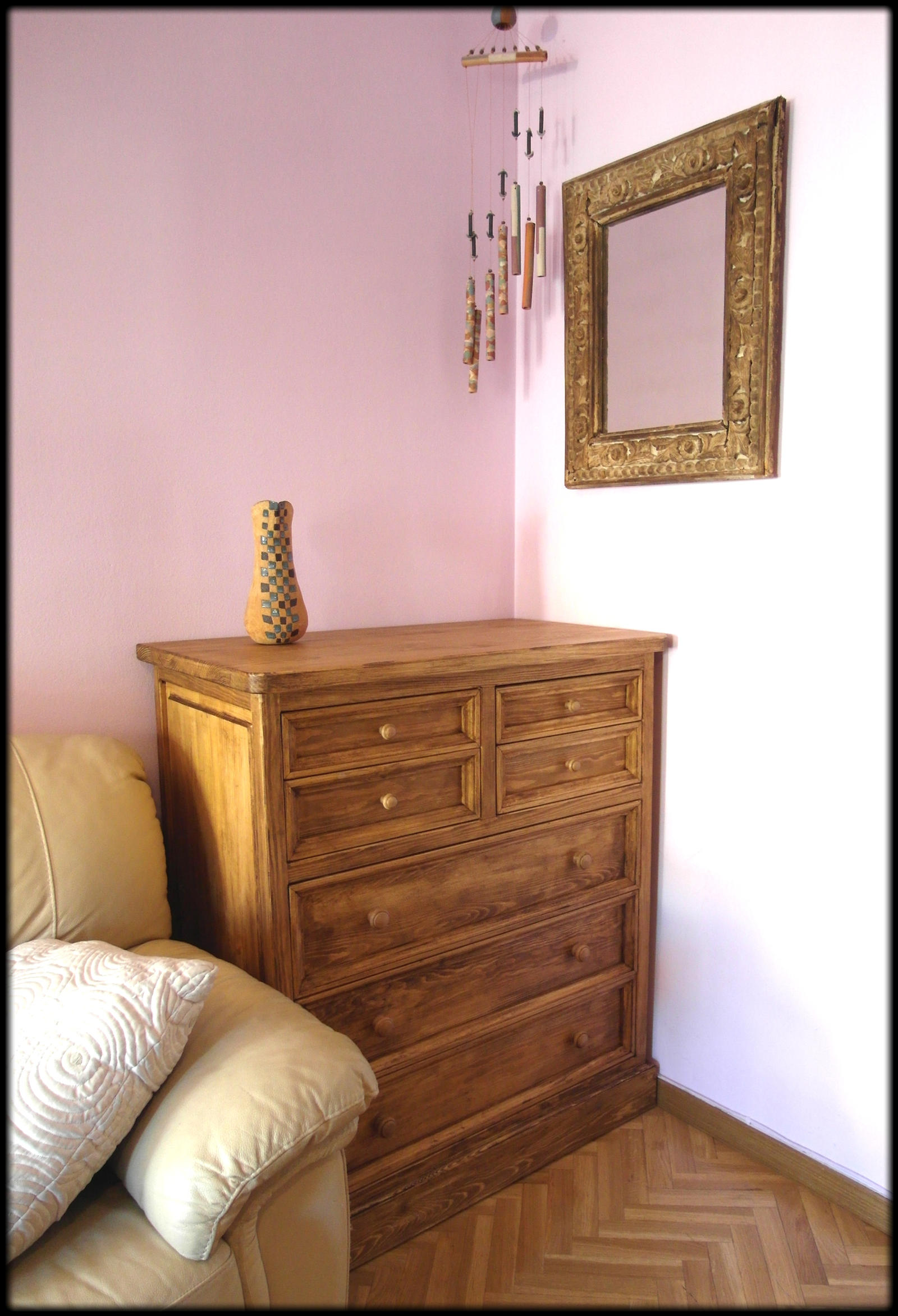 Comoda estilo mexicano by tamal muebles on deviantart for Muebles rusticos mexicanos