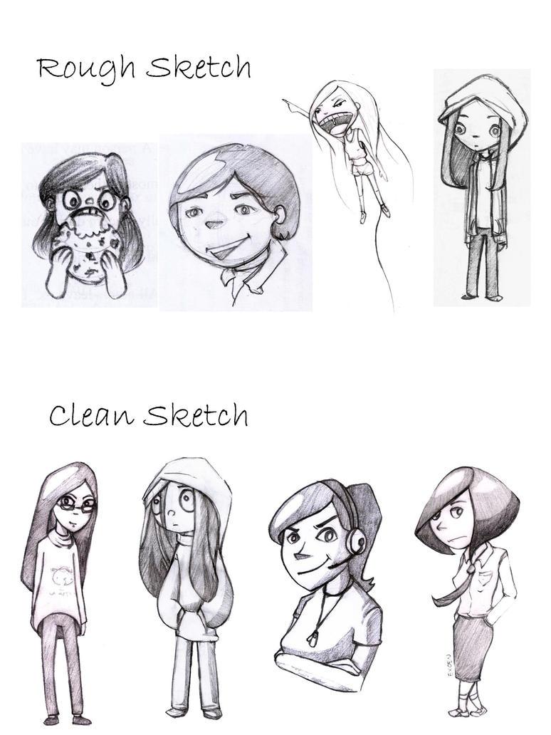 Recent Doodles by Exoen144