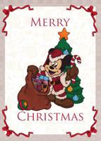 Christmas Card 3 by LisaGunnIllustration
