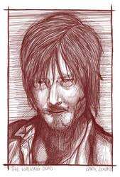 Daryl Dixon by LisaGunnIllustration