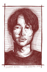 Glenn Rhee by LisaGunnIllustration