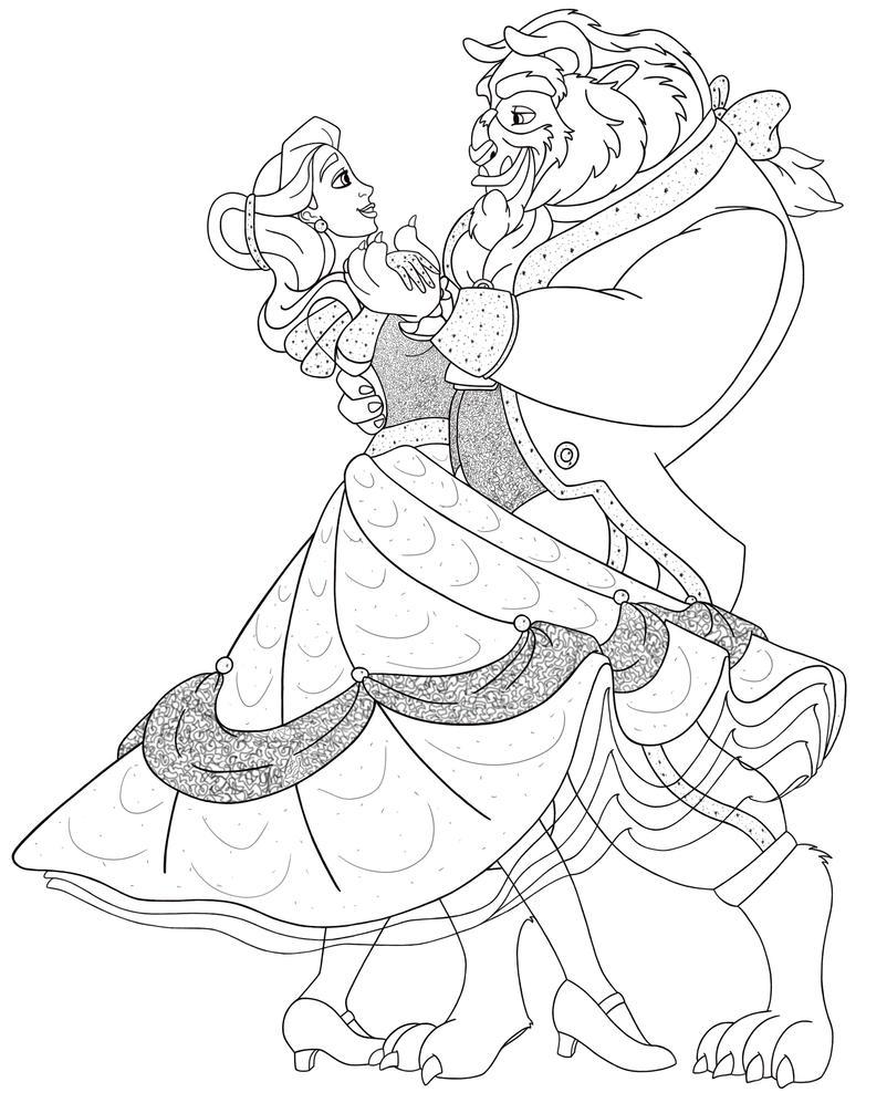 V. Waltz Finished Line by LisaGunnIllustration