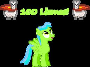 100 Llamas!