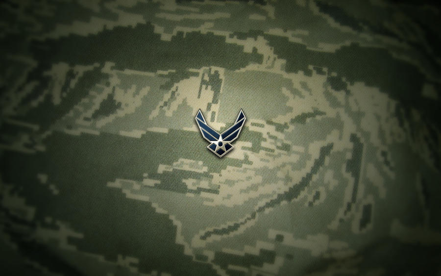 USAF ABU Wallpaper Logo by Falco101