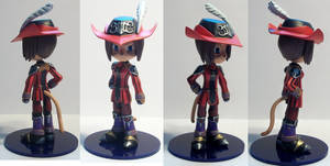 Final Fantasy XI Red Mage Mithra - brighter pics by drtomoe